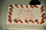 31st, Annual Black History Expo Cake