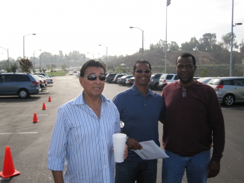 Sammy Salinas, Paul Boykin,and Mike Bartee. Dusty Baker's dedication 11/2009