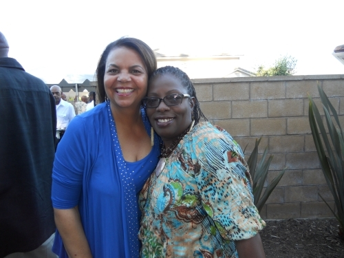 Linda Marbury and Vicki Williams at the 2010 Grown  Folks Soiree