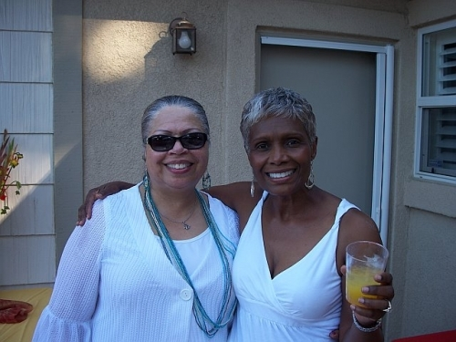 Sheri Cox with her sister in law Shiela Cox at the 2010 Grown Folks Soiree