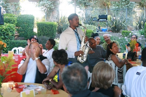 JBoykin on the alto sax at the 2010 Grown Folks Soiree