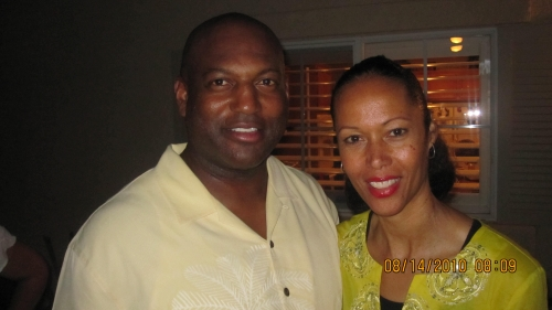 Keith and Joanie Thomas at the 2010 Grown Folks Soiree