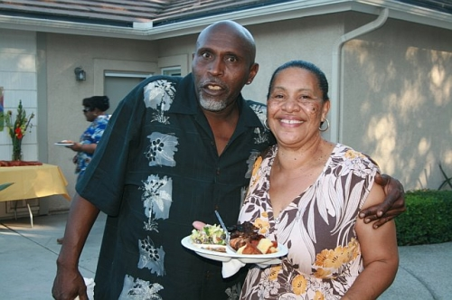 Frank Mathews and Doris Aubert at the 2010 Grown Folks Soiree
