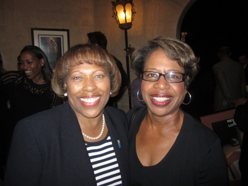 Linda Blanks and Geri Nezart at the Gift of Legacy Dinner 2011