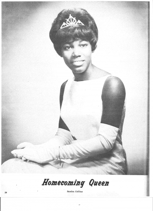 Sandra Collins, North High School's First Homecoming Queen