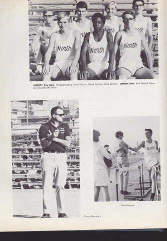 North High School Varsity Cross Country Team 1969