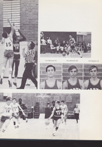 #12 in the bottom photo is Ray Johnson. Ray later became a successful high school basketball coach at El Camino High Sch