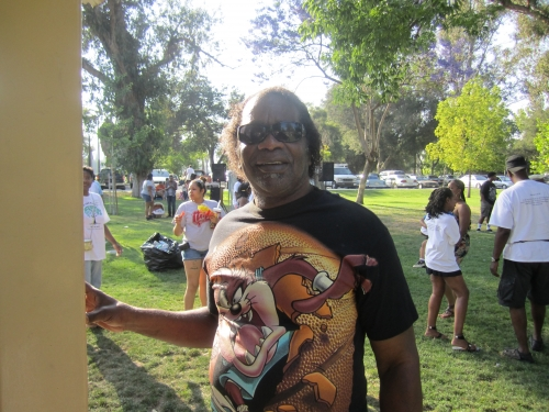 All the way from Oklahoma, Leon Haywood at the Family Affair picnic