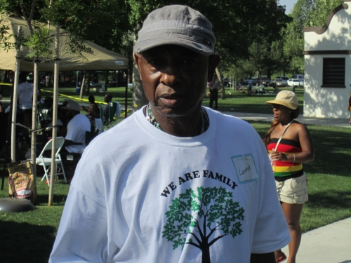 Lonnie Hale at the Family Affair picnic