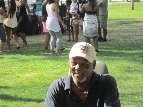 Vincent Hale at the Family Affair picnic