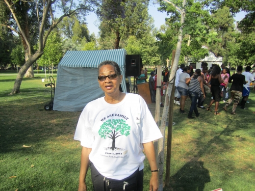 Ethel Price at Family Affair picnic