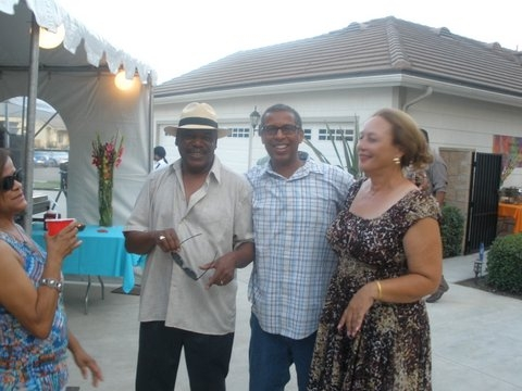 Rhonda Boykin, Terry Futch, Anton Boykin, and Linda Davis