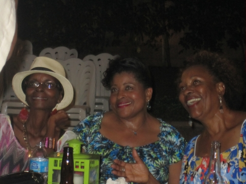 Val Futch, Joyce Reed, and  Gwen Bradford