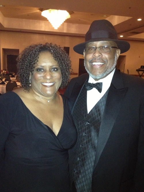 James and Roberta Mathews at the Kappa affair